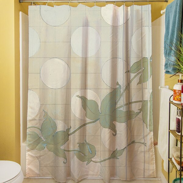 Summer Vine II Shower Curtain by Manual Woodworkers & Weavers