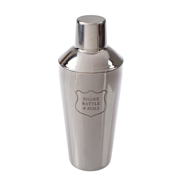 Cuadra Shake Rattle and Roll Cocktail Shaker by Williston Forge