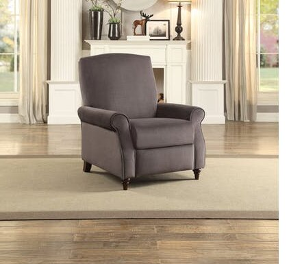 Zebulon Traditional Manual Glider Recliner by Alcott Hill
