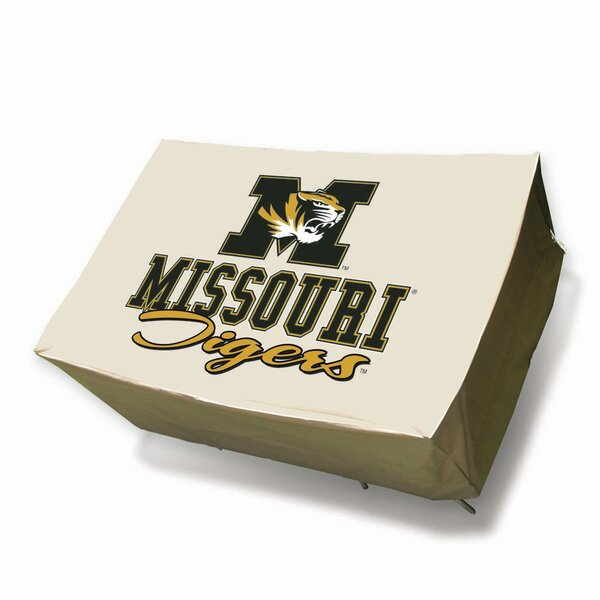 NCAA Round Patio Table Cover by Mr. Bar-B-Q