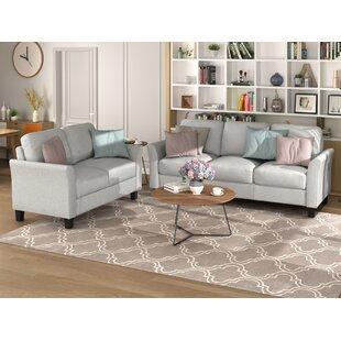 Elainie 2 Piece Living Room Set by Red Barrel Studio®