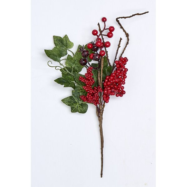 Berry Pick Ivy Branch (Set of 6) by The Holiday Aisle
