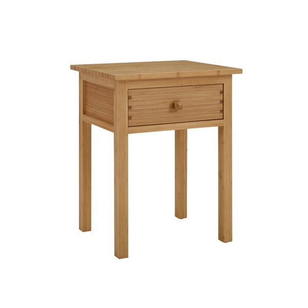 Primeaux 1 Drawer Nightstand by Red Barrel Studio