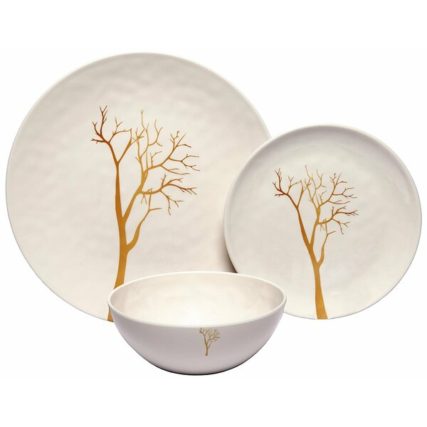 Rohan Tree 36 Piece Dinnerware Set, Service for 12 (Set of 12) by Darby Home Co