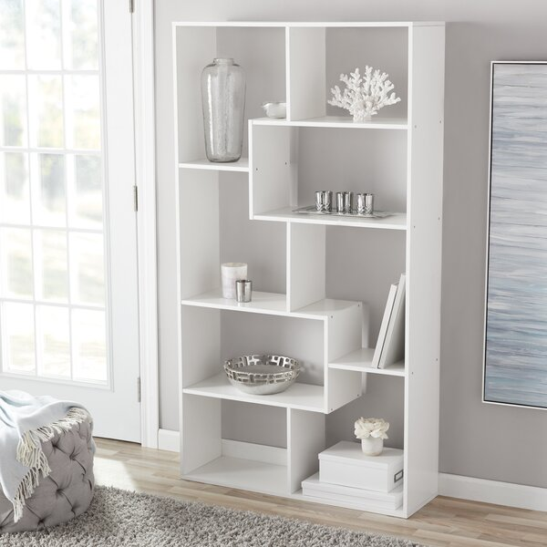 Gabryle Geometric Bookcase By Latitude Run