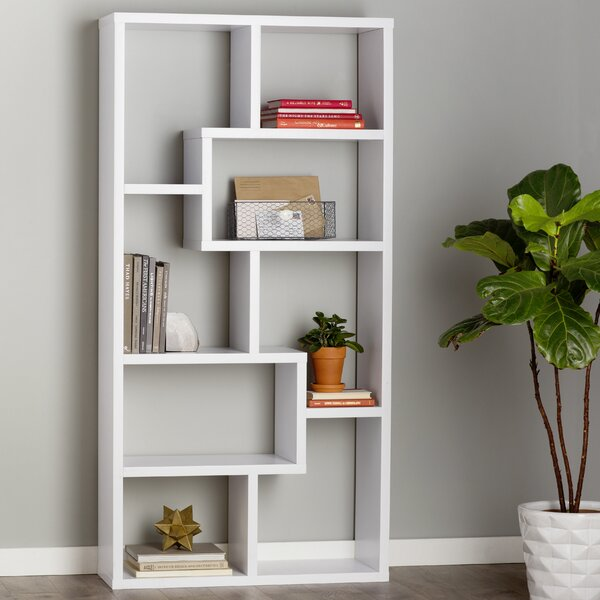 Chrysanthos Etagere Bookcase by Mercury Row