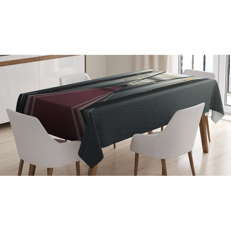 East Urban Home Ambesonne French Tablecloth, Hotel ...