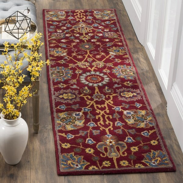 Rodney Hand-Tufted Area Rug by Charlton Home