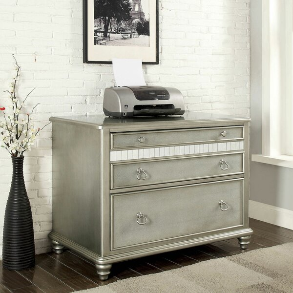 Hough 2 Drawer Lateral Filing Cabinet