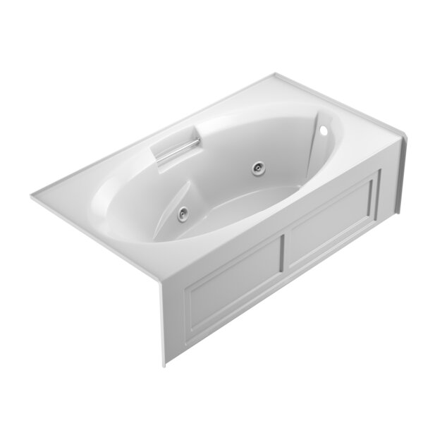 Nova Right-Hand 72 x 36 Skirted Whirlpool Bathtub by Jacuzzi®