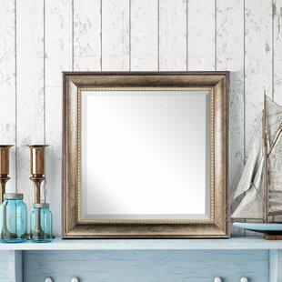 Alcott Hill Ingram Square Framed Wall Mirror