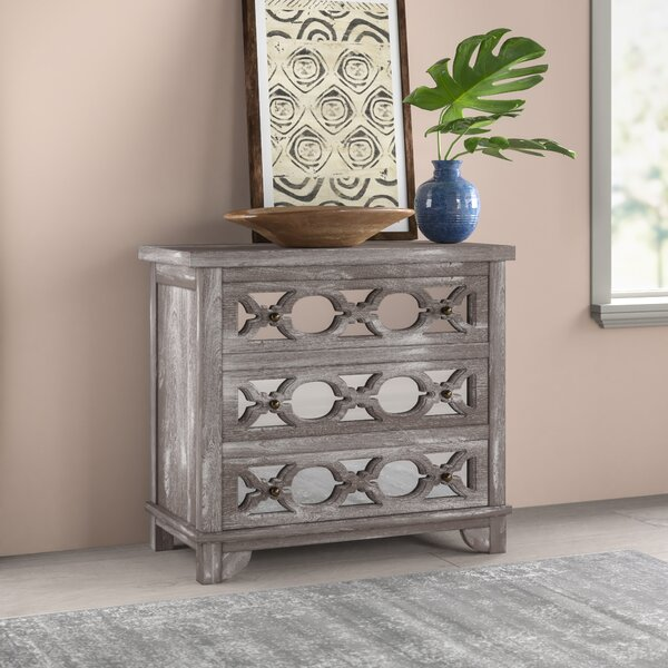 Cushing 3 Drawer Accent Chest by Mistana