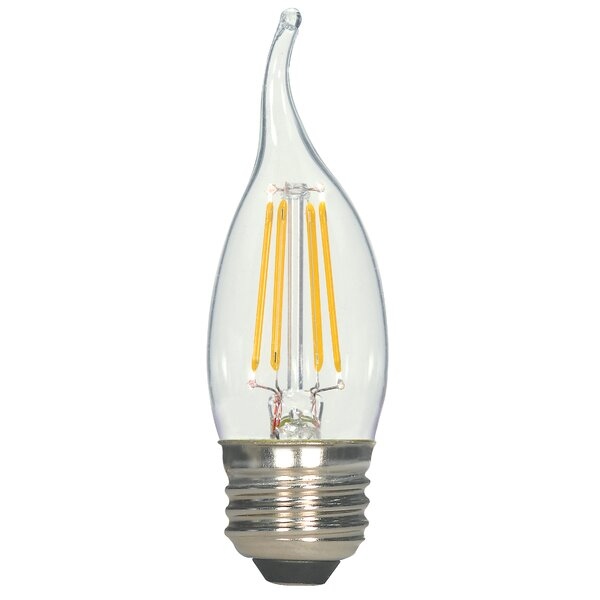 5.5W E26 Medium LED Vintage Filament Light Bulb by Satco