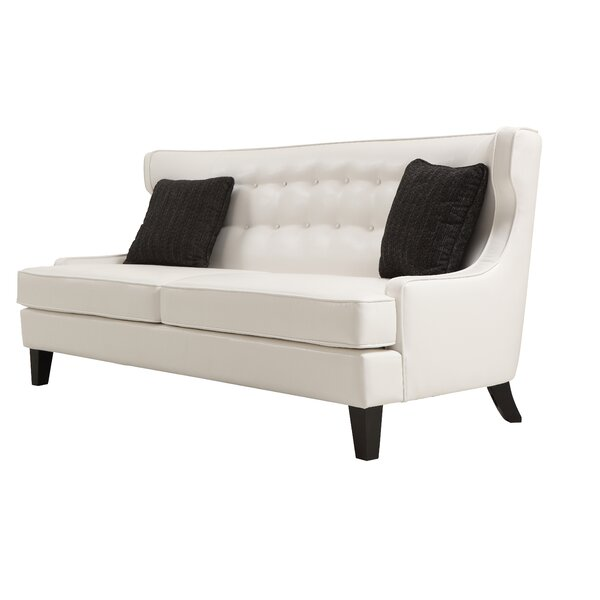 Ava Leather Sofa By Willa Arlo Interiors Find