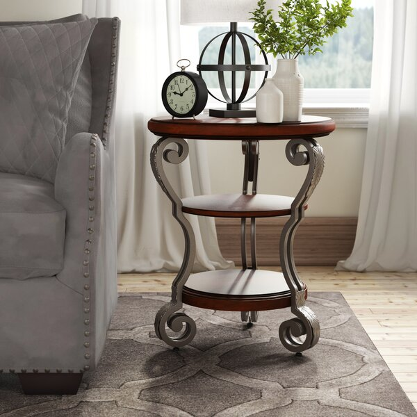Voorhees End Table by Darby Home Co