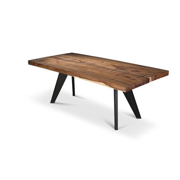 Anissa Cross Dining Table by Union Rustic