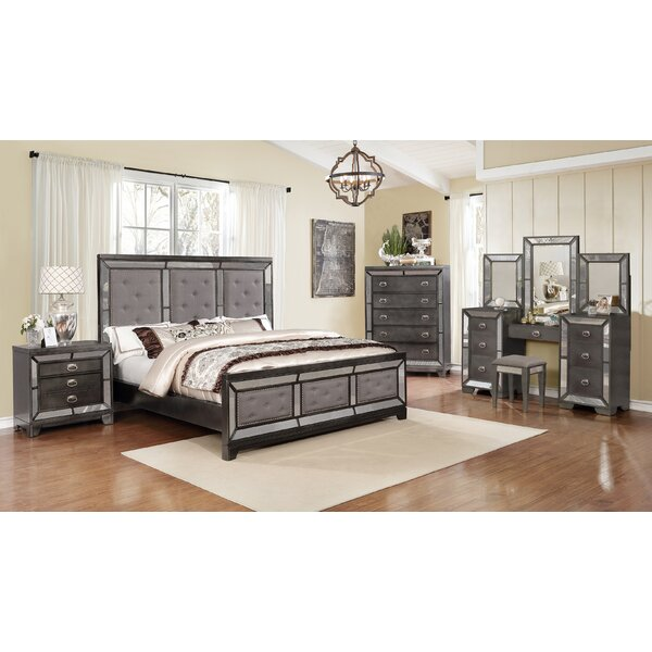 Anner Standard 5 Piece Bedroom Set by Everly Quinn