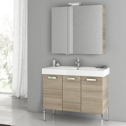 Cubical 41 Single Bathroom Vanity Set by ACF Bathroom Vanities