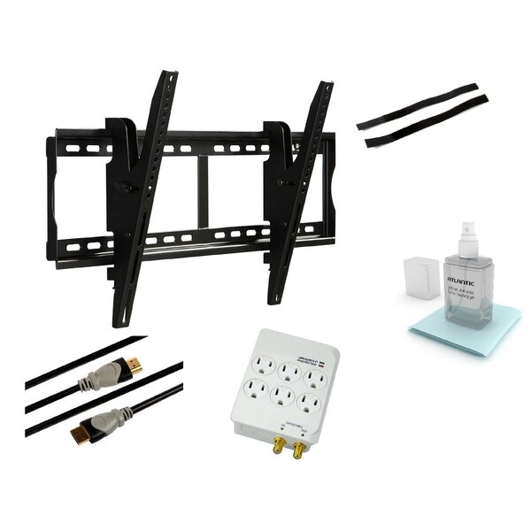 Tilt & Swivel Wall Mount for 37 - 70 Flat Panel Screens by Atlantic