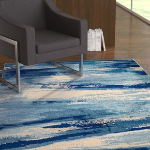 Looking for Sawyer Seascape Navy Blue Area Rug By Ebern Designs