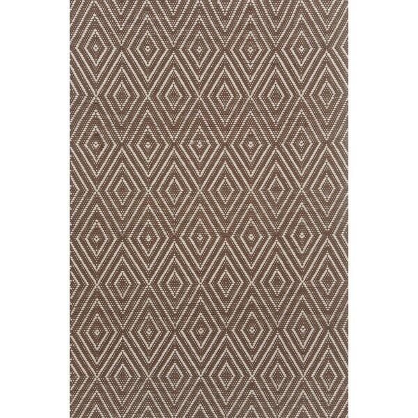 Hand-Woven Brown Indoor/Outdoor Area Rug by Dash and Albert Rugs