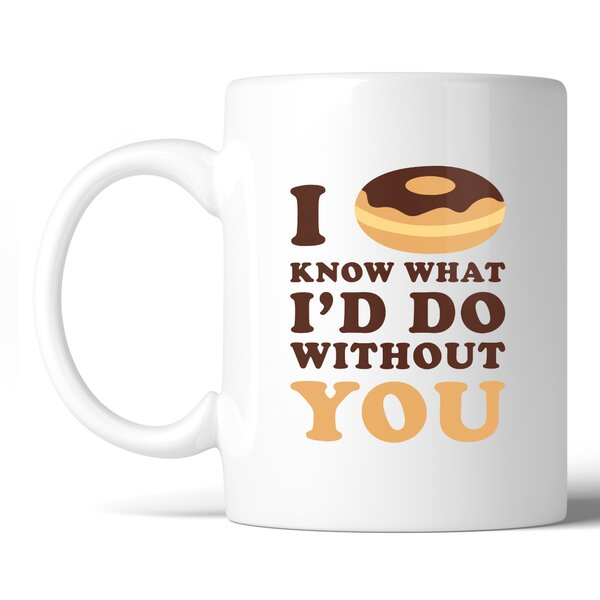 Rathbone I Doughnut Know Coffee Mug by Latitude Run