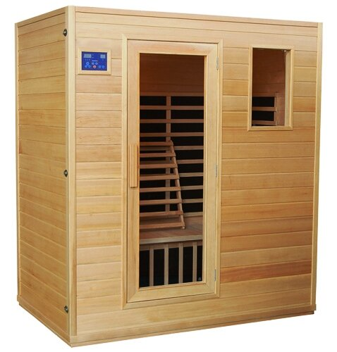 4 Person Traditional Sauna by Great American Sauna