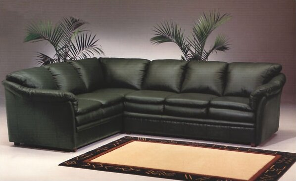 Uptown Sectional by Omnia Leather