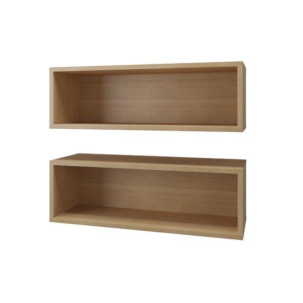 Rectangle 2 Piece Wall Accent Shelf Set by Latitude Run