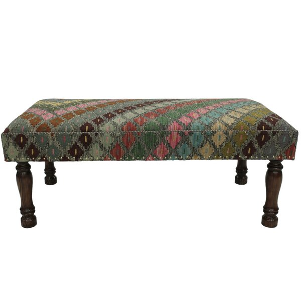 Stoffel Upholstered Bench by Bloomsbury Market