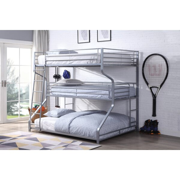 Romano Full over Twin over Queen Triple Bed by Zoomie Kids