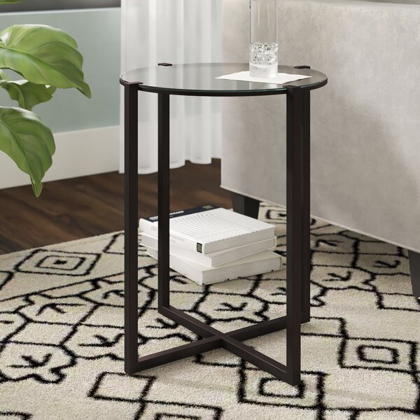 Agan End Table by Wrought Studio