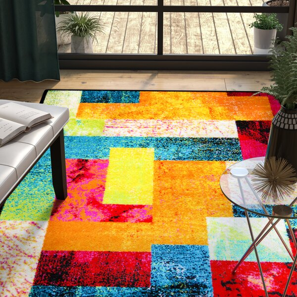 Lyons Multi-Colored Area Rug by Ebern Designs