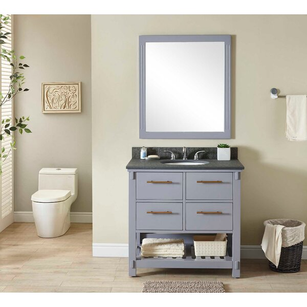 Greenlaw 37 Single Bathroom Vanity Set by Wrought Studio