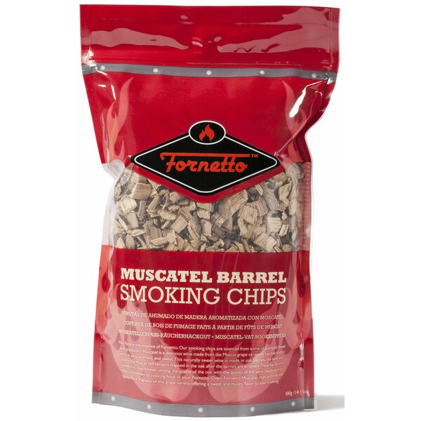 Muscatel 14 oz. Smoking Wood Chips by Fornetto