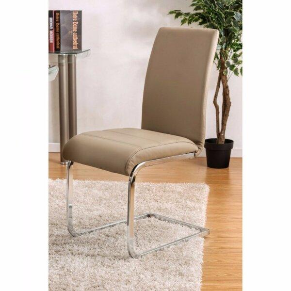 Ballinger Upholstered Dining Chair (Set of 2) by Orren Ellis Orren Ellis