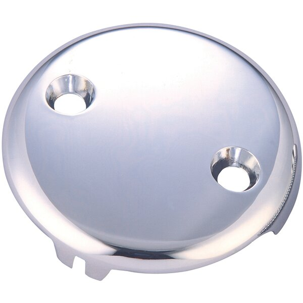 Bath Overflow 2 Hole Face Plate by Pioneer
