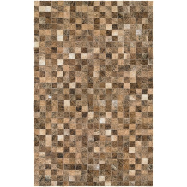 Willis Hand-Woven Rectangle Brown Area Rug by Trent Austin Design