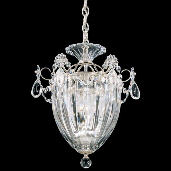 Bagatelle 3-Light Crystal Pendant by Schonbek