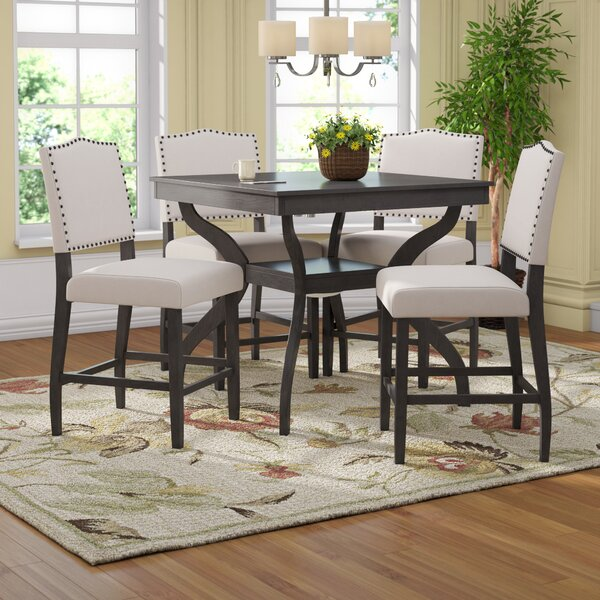 Campton 5 Piece Counter Height Dining Set by Darby Home Co