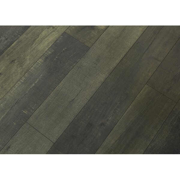 Rustica 6.5 x 48 x 12mm Oak Laminate Flooring in Rome by Bellami