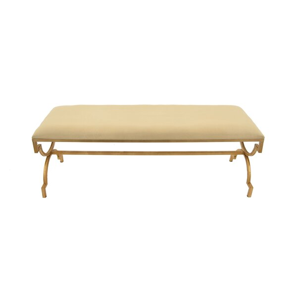 Arverne Upholstered Bench by Rosdorf Park