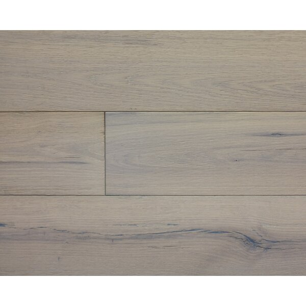 American Traditions 7 Engineered White Oak Hardwood Flooring in Antique Nickel by Albero Valley