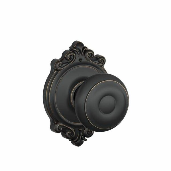 Georgian Knob with Brookshire Trim Hall and Closet