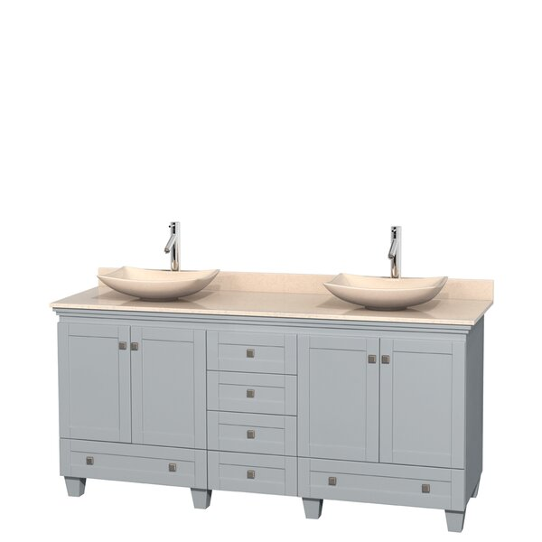 Acclaim 72 Double Bathroom Vanity Set