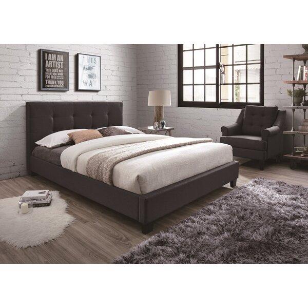 Beckenham Upholstered Platform Bed by Wrought Studio