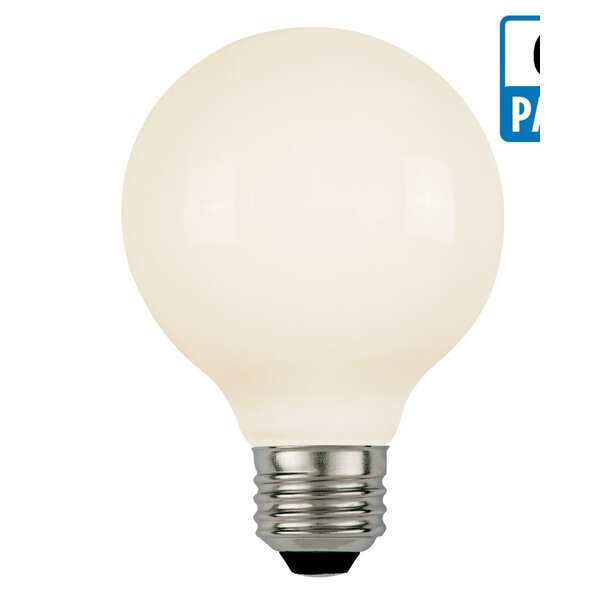 E26 Dimmable LED Globe Light Bulb (Set of 6) by Westinghouse Lighting