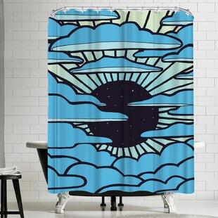 Joe Van Wetering New Sun Shower Curtain