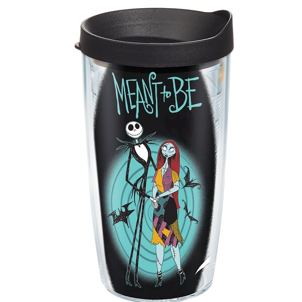 Disney Nightmare Meant To Be Plastic Travel Tumbler by Tervis Tumbler