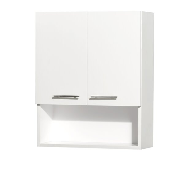 Centra 24 W x 29 H Wall Mounted Cabinet by Wyndham Collection